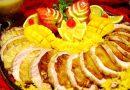 Lombo Suíno de Natal com Abacaxi Glaceado