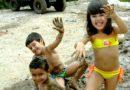 Crianças no Barro faz bem à Saúde