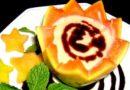 Dia dos Pais – Adoce com Creme de Papaia e Calda de Chocolate