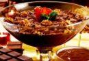 Strogonoff de Chocolate e Nozes