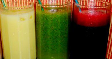 Sucos DETOX Saudáveis e Sustentáveis