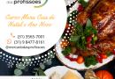 Curso menu ceia de Natal e Ano Novo