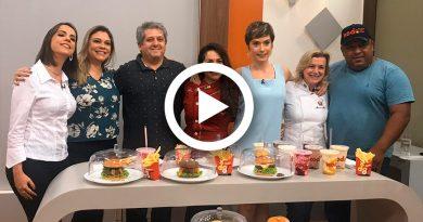 Programa Brasil Gerais Comemora 122 anos de Belo Horizonte Com Paticipação da chef Rosilene Campolina
