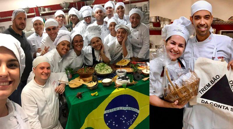 Formandos da Una Gastronomia homenageiam professora Rosilene Campolina