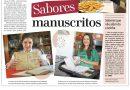 Sabores manuscritos: admiradores da cozinha mostram os seus cadernos de receitas
