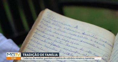 Cadernos de receitas preservam a história da culinária mineira