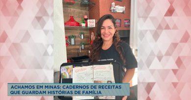 Achamos em Minas: caderno de receitas se torna tradição familiar