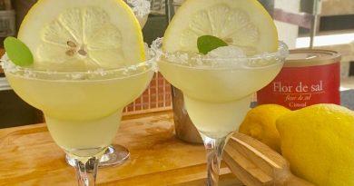 Margarita à Campolina com limão siciliano