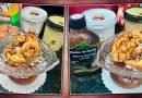 Receita de Profiterole Mineiro com sorvete de doce de leite e calda de jabuticaba com café